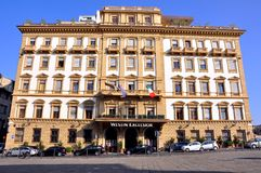 Hotel in Florence, Italy stock photography