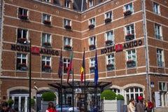 Hotel-Freund Stockfotos