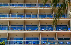 Hotel front Royalty Free Stock Photo