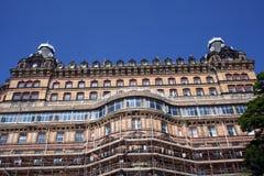 Hotel gótico grande Foto de Stock Royalty Free
