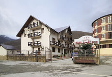 Hotel Gala Alpik in Gorky Gorod resort Royalty Free Stock Photography