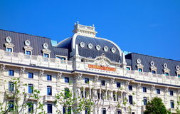 Hotel Gallia. A view of the famous Hotel Gallia in Milan, Italy Stock Photos