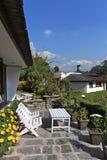 Hotel Garden,Pokhara, Nepal Stock Image