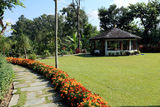 Hotel Garden,Pokhara, Nepal Royalty Free Stock Photography