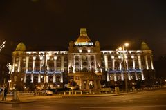 Hotel Gellért, Boedapest Royalty-vrije Stock Foto