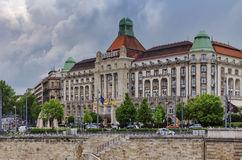 Hotel Gellert in Budapest royalty free stock image
