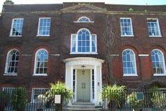 Hotel georgiano Poole Dorset Imágenes de archivo libres de regalías