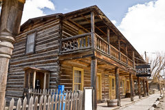 Hotel in Ghost Town Stock Photos