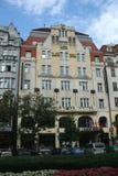 Hotel Golden Goose in Prague Stock Photos