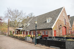 Hotel Gouden Leeuw in the smallest city in the Netherlands. Royalty Free Stock Images