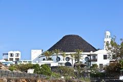 Hotel Gran Melia Volcan in Playa Blanca Stock Photo