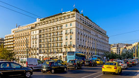 The Hotel Grande Bretagne Stock Image