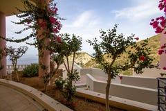 Hotel in Grecia fotografie stock libere da diritti