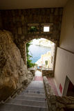 Hotel in Greece Stock Photo