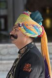 Hotel Guard in Bikaner Royalty Free Stock Image