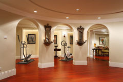 Hotel gym Stock Images