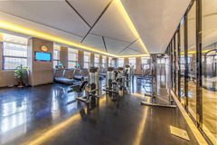 Hotel gym Royalty Free Stock Photography