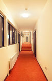 Hotel hall Stock Image
