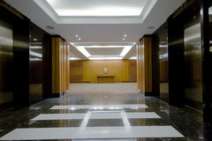 Hotel hall interior Royalty Free Stock Photo