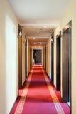 Hotel halls Stock Images