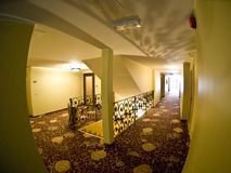 Hotel hallway Stock Photography