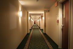 Hotel hallway Royalty Free Stock Image