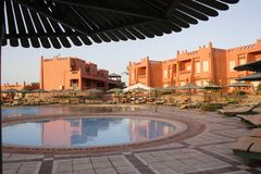 Hotel Hauza, Egypt Royalty Free Stock Photo