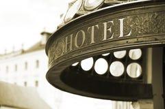 Hotel header royalty free stock photos