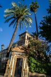 Hotel hermoso en Sevilla, hotel de Alfonso 13 del trece de Alfonso Imagen de archivo