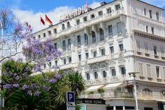 Hotel herrlich, Cannes, Frankreich lizenzfreie stockfotos
