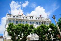 Hotel herrlich, Cannes, Frankreich stockfotografie