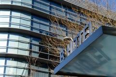 Hotel in het centrum van Barcelona Stock Fotografie