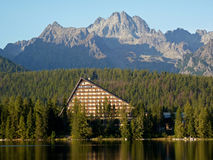 Hotel in The High Tatras Stock Image