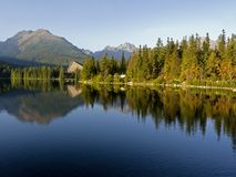 Hotel in The High Tatras Stock Photography