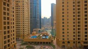 Hotel Hilton in Dubai lizenzfreies stockfoto