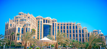 Hotel Hilton Eilat Queen of Sheba, Israel Stock Image