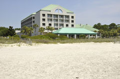 Hotel on Hilton Head Island Stock Image