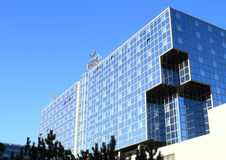 Hotel Hilton a Praga fotografia stock libera da diritti