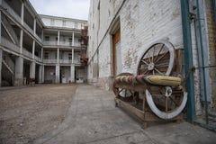 Hotel histórico do dobrador em Laredo Texas fotografia de stock
