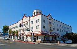 Hotel histórico no Laguna Beach, CA. Fotografia de Stock