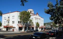 Hotel histórico no Laguna Beach, CA Foto de Stock