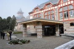 Hotel in Hoge Tatras royalty-vrije stock afbeeldingen
