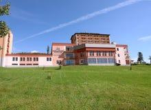 Hotel in Hoge Tatras. stock foto