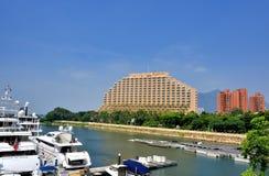 Hotel Hongs Kong Gold Coast Stockbilder
