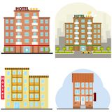 Hotel, a hotel suite, a hostel, a place to stay overnight. Royalty Free Stock Image