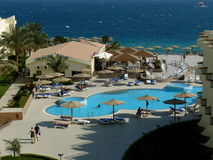 Hotel in Hurghada Royalty Free Stock Images
