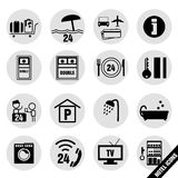 Hotel icon design Royalty Free Stock Image