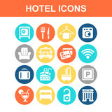 Hotel icon Royalty Free Stock Photography