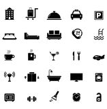 Hotel Icon set. For your design royalty free illustration