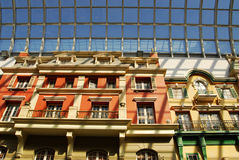 Hotel im Westedmonton-Mall lizenzfreie stockfotografie